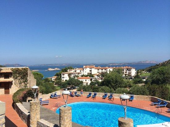 Hotel Olimpia : Vista do quarto