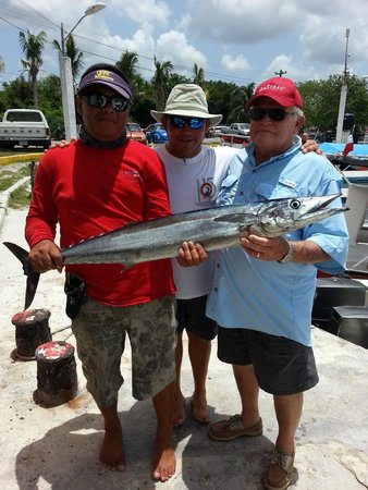 Challenge Diving: Wahoo caught on 08/19/2014