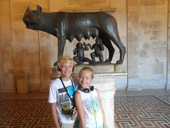 Musées du Capitole : the she wolf