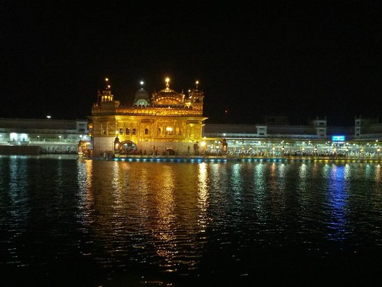 Temple d'or : Amritsar by Night
