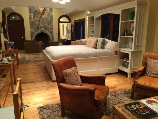 Grace White Barn Inn and Spa: Friendship cottage is a great splurge if you want privacy