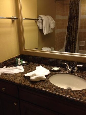 Hilton Grand Vacations at Tuscany Village: studio bathroom