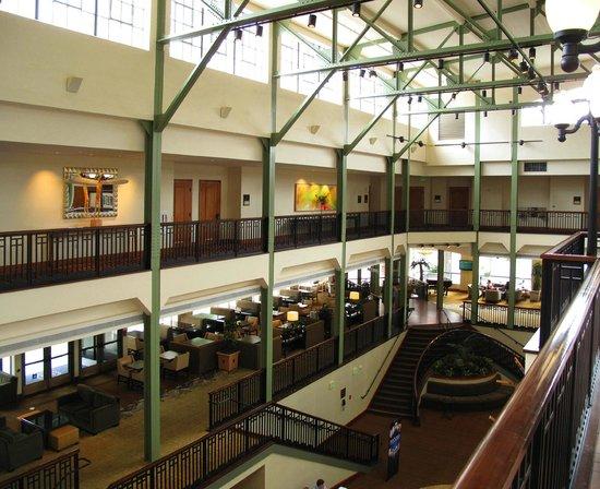 Sheraton Grand Sacramento Hotel Lobby Area Historic Public Market