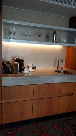 The Darling: Wet bar