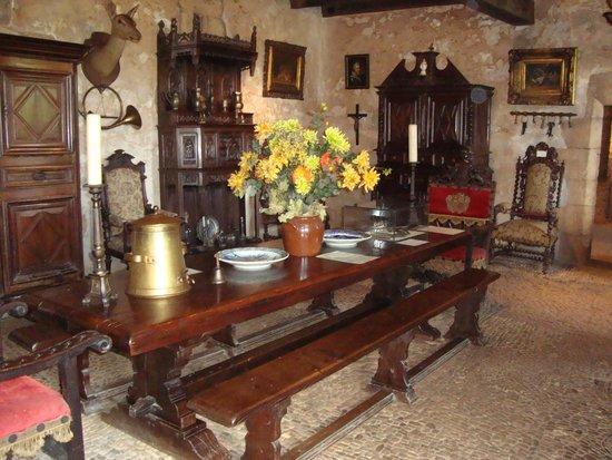 The Maison Forte de Reignac: Fine dining!