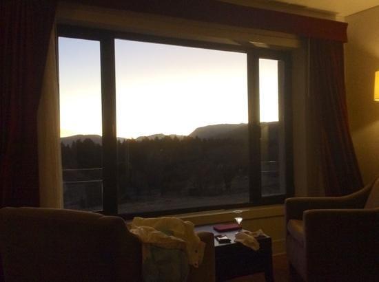 Loi Suites Chapelco Hotel: Vista desde una habitacion doble con cama extragrande