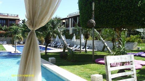 Pipa Beleza Spa Resort: Visão da area de recreação