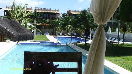 Pipa Beleza Spa Resort: Piscinas limpissimas