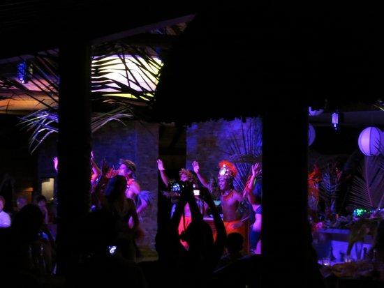 Four Seasons Resort Bora Bora: showtime