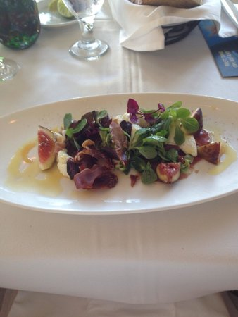 Citricos Lounge : Fig salad amazing !