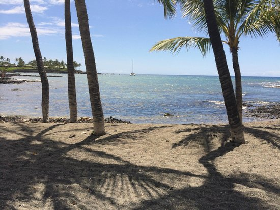 Mauna Lani Bay Hotel & Bungalows: A snap on the path through the historic fishponds.