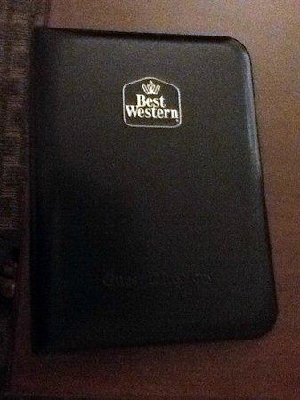 Best Western Adams Inn Quincy-Boston: Guest Services Book