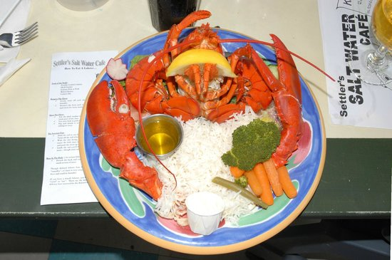 Settlers Saltwater Cafe: The $28.99 Lobster Special