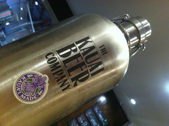 Kauai Beer Company: Stainless Steel Growler