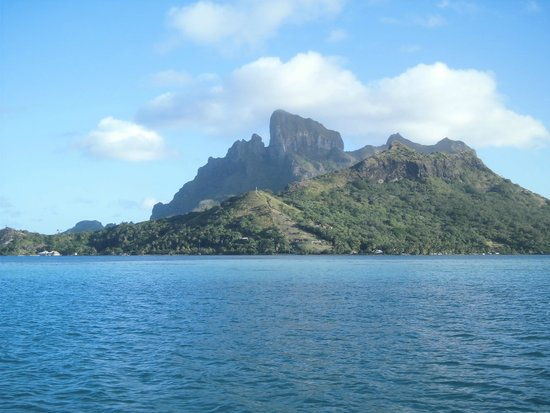 Bora Bora Lagoonarium : オテマヌ山