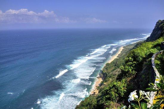 Bulgari Resort Bali: Cliff View from Beach Bar