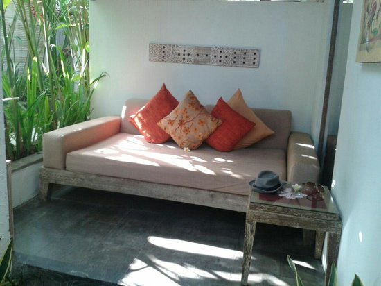 Ivory Resort Seminyak: The outdoor living room