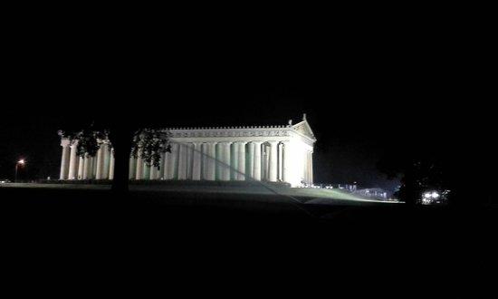 The Parthenon : side