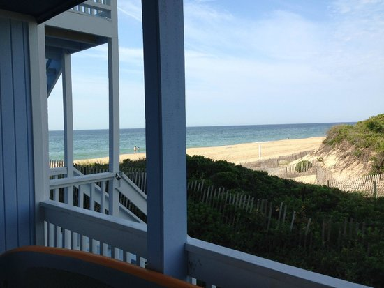 Montauk Blue Hotel: view from room