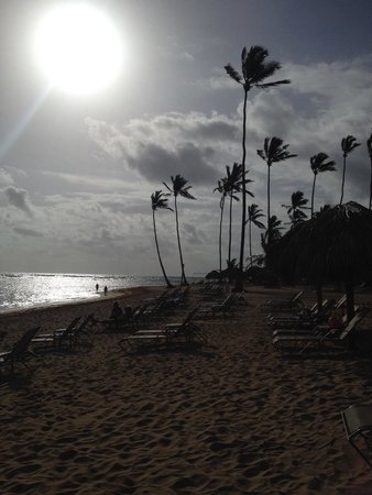 Breathless Punta Cana Resort & Spa : I had some early morning beach time. It's was nice and not crowded