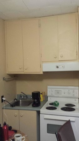 Mary's Motel: Kitchenette