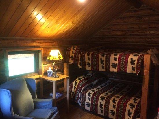 Meandering Moose Lodging: Cozy Moose cabin