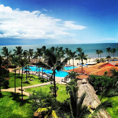 Occidental Nuevo Vallarta: Beautiful view from our 6th floor room.