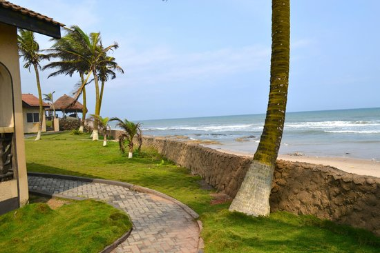 Ramada Resort Accra Coco Beach View From The Grounds