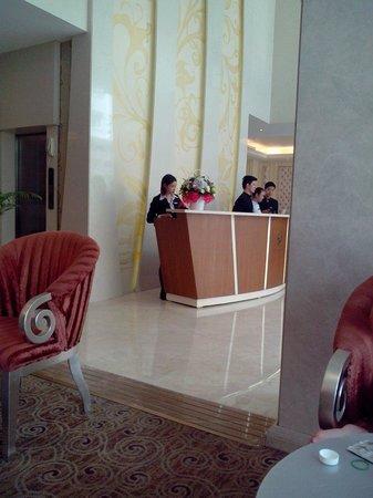 Grand Silverland Hotel & SPA: Eingang