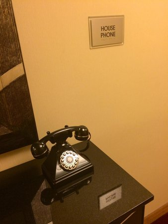 New York Marriott East Side : Brilliant tool in the hall way