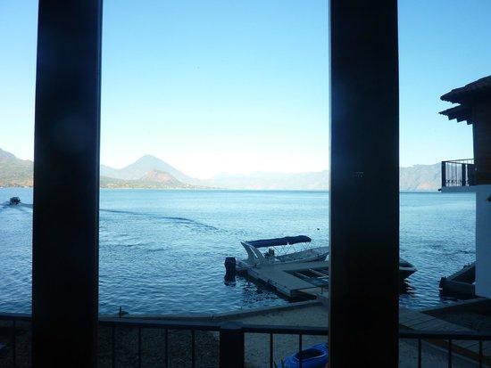 Atitlan Villas: View from breakfast/lunch/dinner/meals