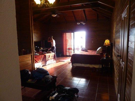 Atitlan Villas: Our very spacious room with balcony
