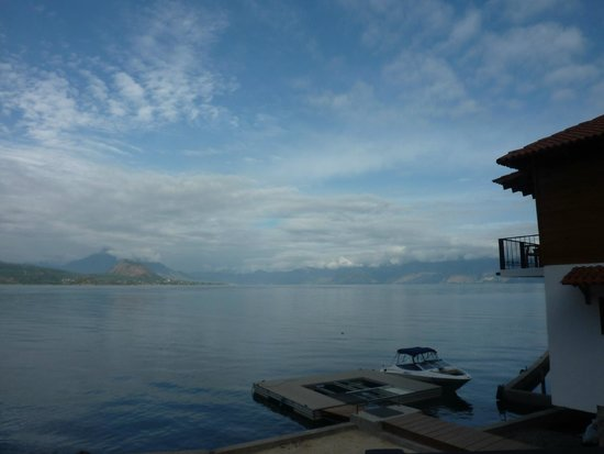 Atitlan Villas: View from pool area