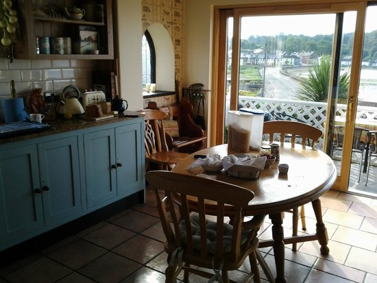 Marsh Mere Lodge: Clare's wonderful kitchen