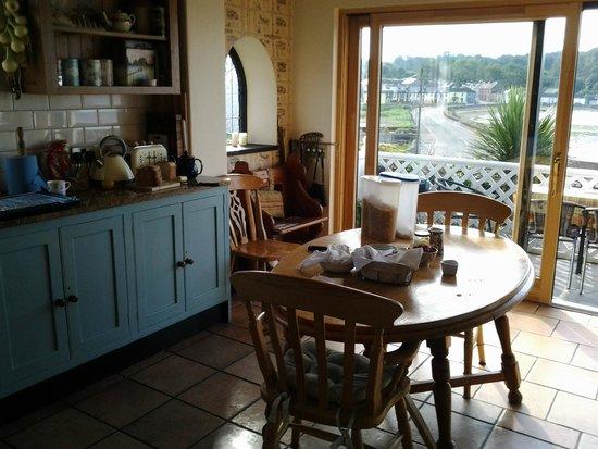 Marsh Mere Lodge : Clare's wonderful kitchen