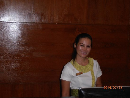 Horizon Patong Beach Resort & Spa : Golf great receptionist.