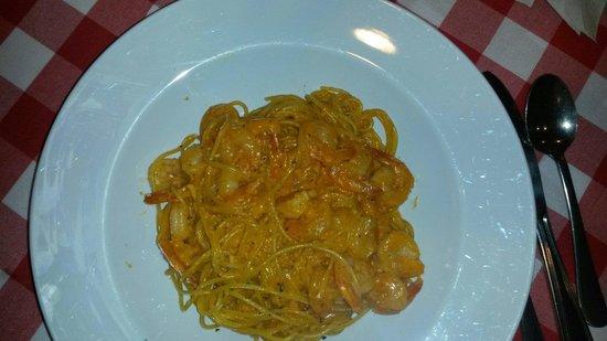 Mister Panino : Pasta con camarones
