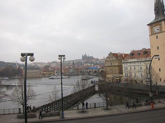 Smetana Hotel : 窓からの眺め
