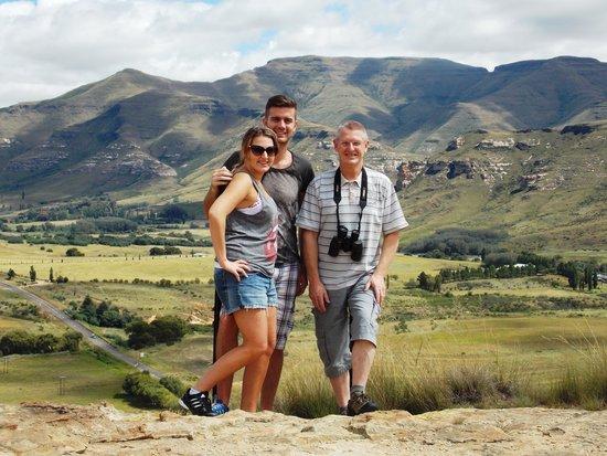 Kiara Lodge: Mountain walks