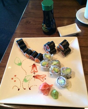 Fusion Asian Restaurant: Wonderful Sushi Lunch