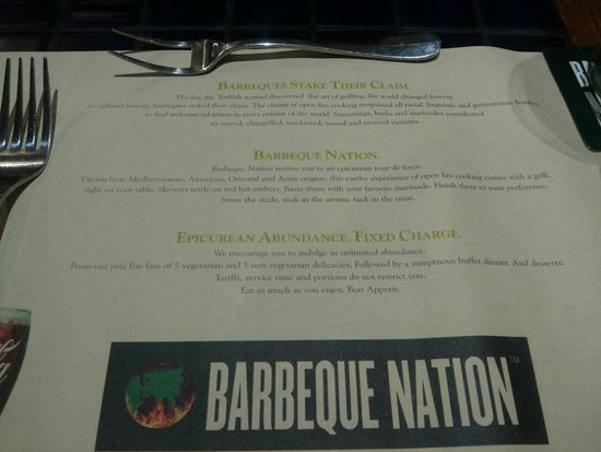 Barbeque Nation: About BBQ Nation...