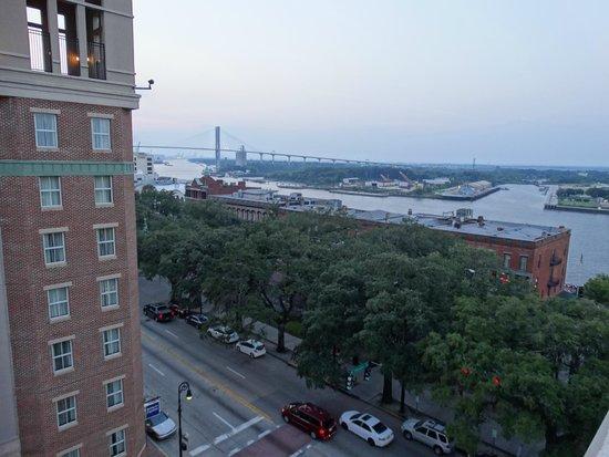 Hampton Inn Savannah - Historic District: View from atop the Hampton Inn