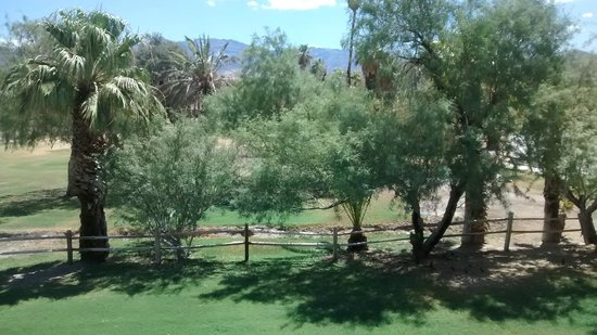 Furnace Creek Inn and Ranch Resort: view from the room