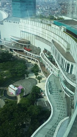 Pullman Jakarta Central Park: View from the room