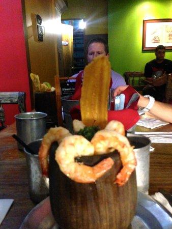 Restaurante Raices: Mofongo surf and turf