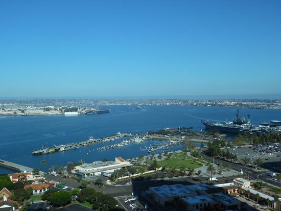 Manchester Grand Hyatt San Diego: Spectacular view from the room.