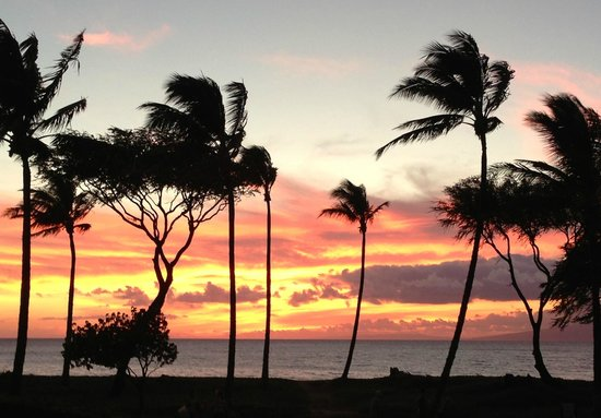 The Westin Kaanapali Ocean Resort Villas: Maui sunset from resort
