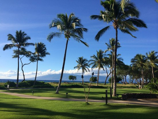 The Westin Kaanapali Ocean Resort Villas : Looking at Lanai