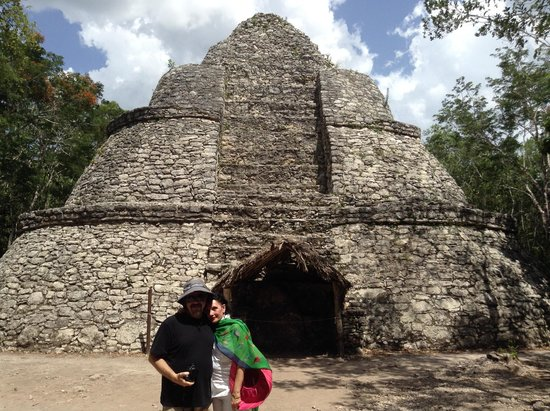 Ruinas de Coba: Look out in Coba