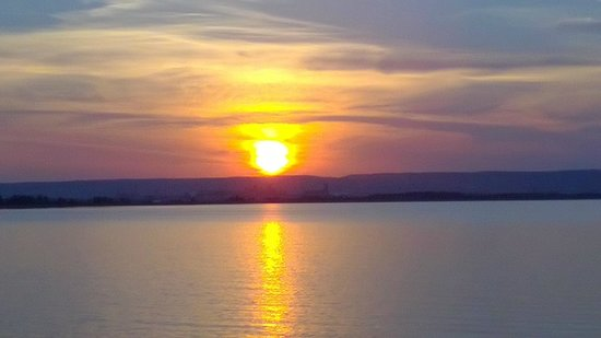 Vista Fleet: Sunset from the boat